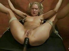 Biondo prende scopata da massaggiatore video porno di ragazze lesbiche sfarzoso